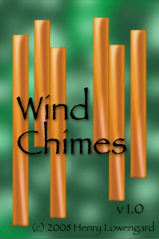 New Wind Chimes Splash Screen